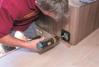 How to install a gas heater