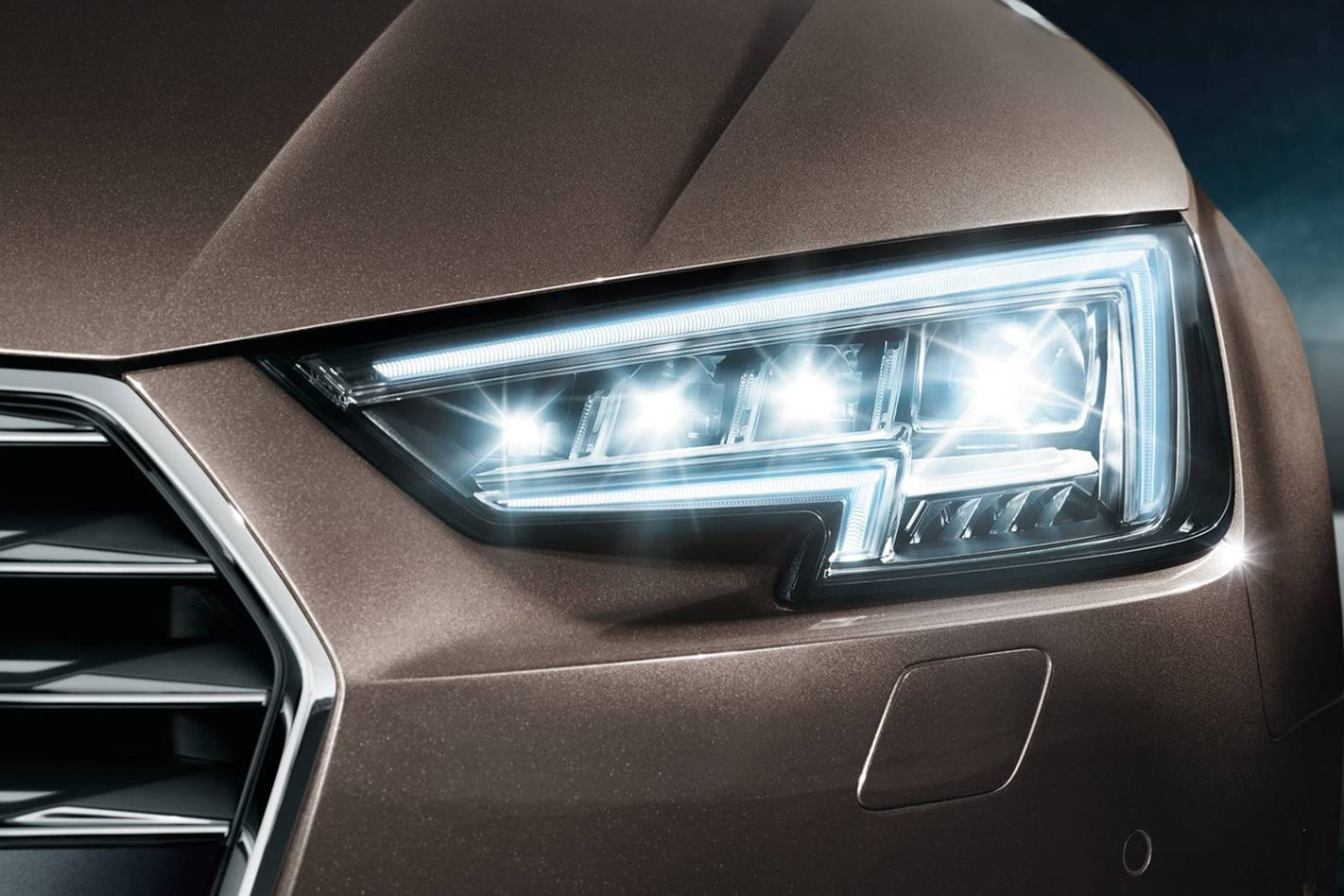 Black Car Lights Wallpaper Audi Matrix Led Headlight Technology Does It Work