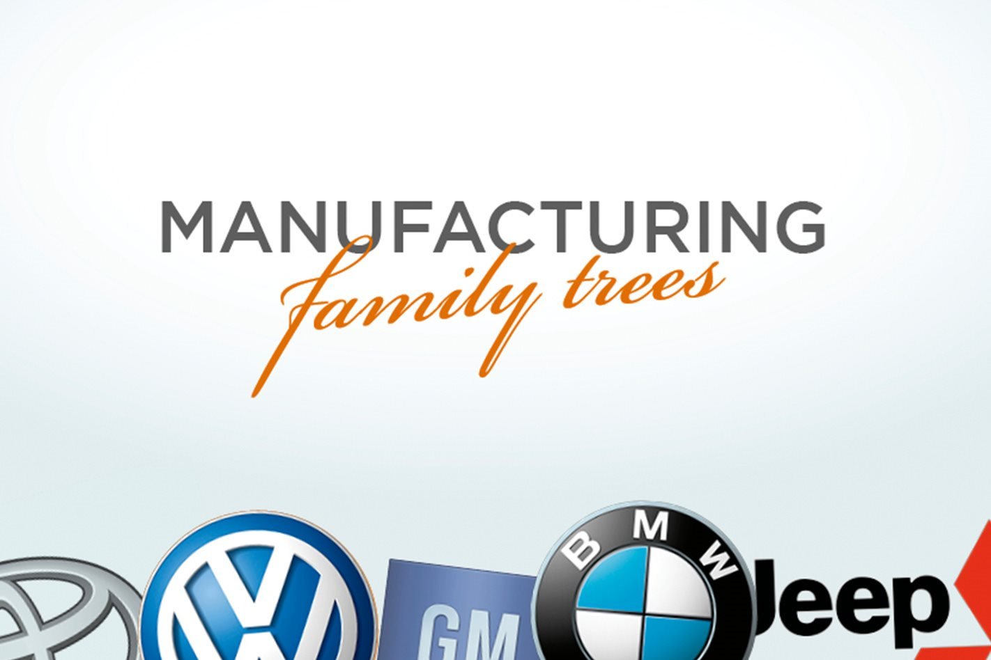 Car Manufacturers Reliability List Car Manufacturer Family Tree Which Carmaker Owns Which Car