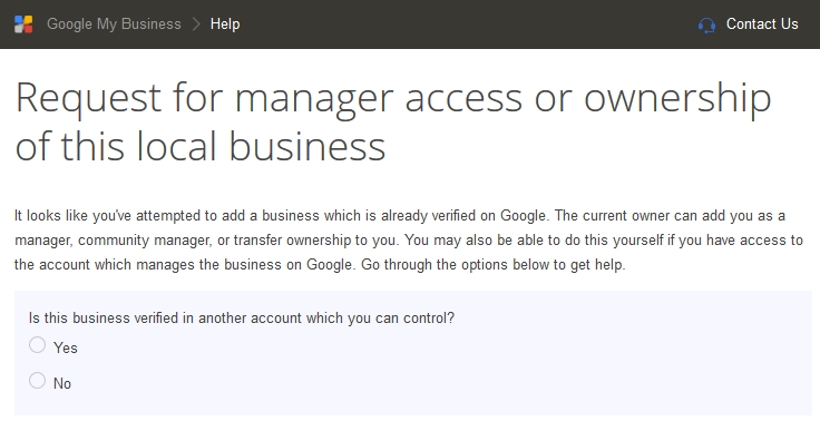 How To Request Google Business Listing Ownership Transfer