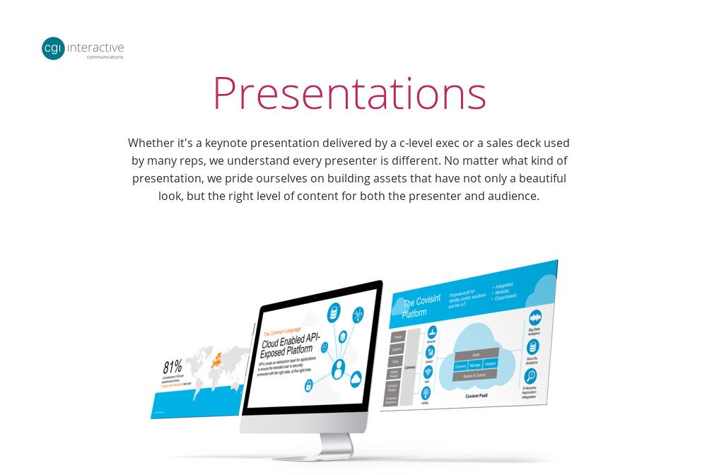 Nokia \u2014 Presentations