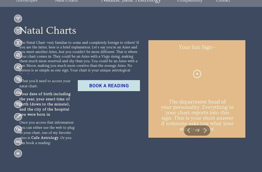 Natal Birth Chart Reading Choice Image - chart design for project