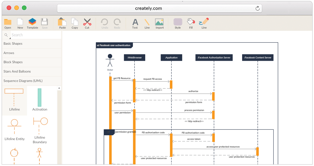 Freeware Banking Software Create Sequence Diagrams Online Sequence Diagram Tool