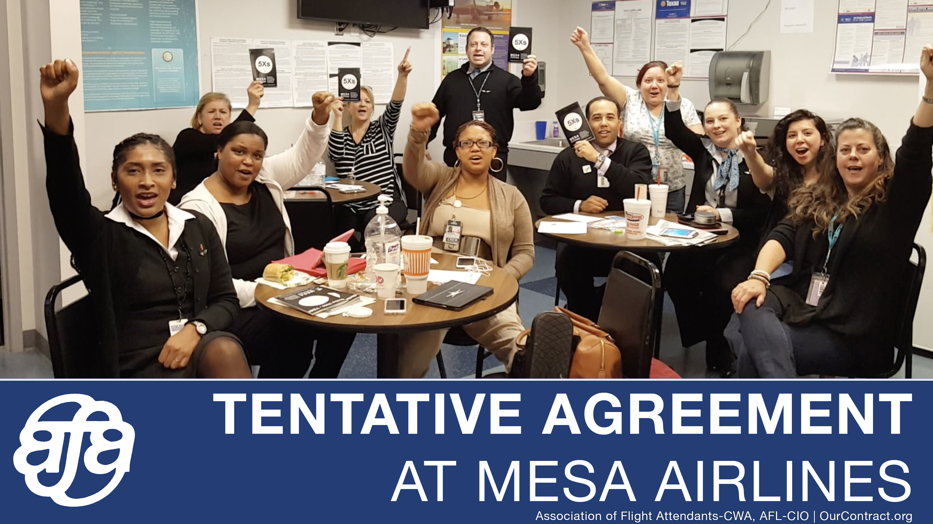 Mesa Airlines Flight Attendants At Mesa Airlines Reach Tentative Agreement
