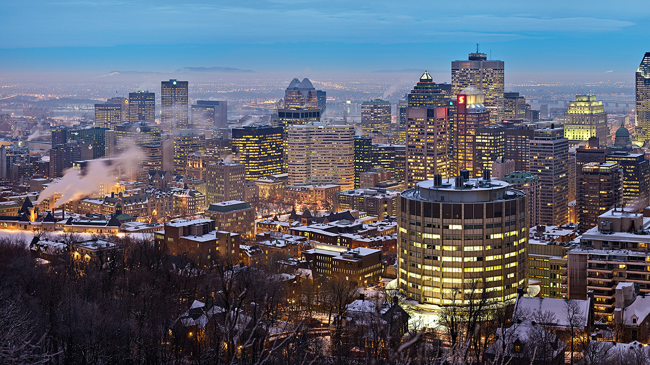 Quebec Montreal Montreal Quebec Intelligent Community Forum