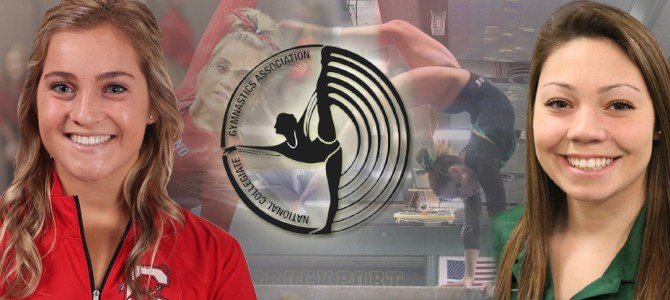 Filipski and Kowalik Garner NCGA East Gymnast of the Week Honors