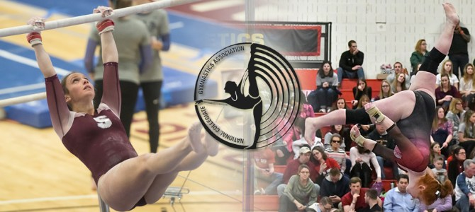 DeAngelo and Ruoss Garner NCGA East Gymnast of the Week Honors