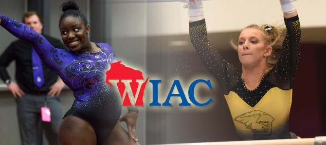 Jackson and Tkaczuk Earn WIAC Gymnast of the Week Honors