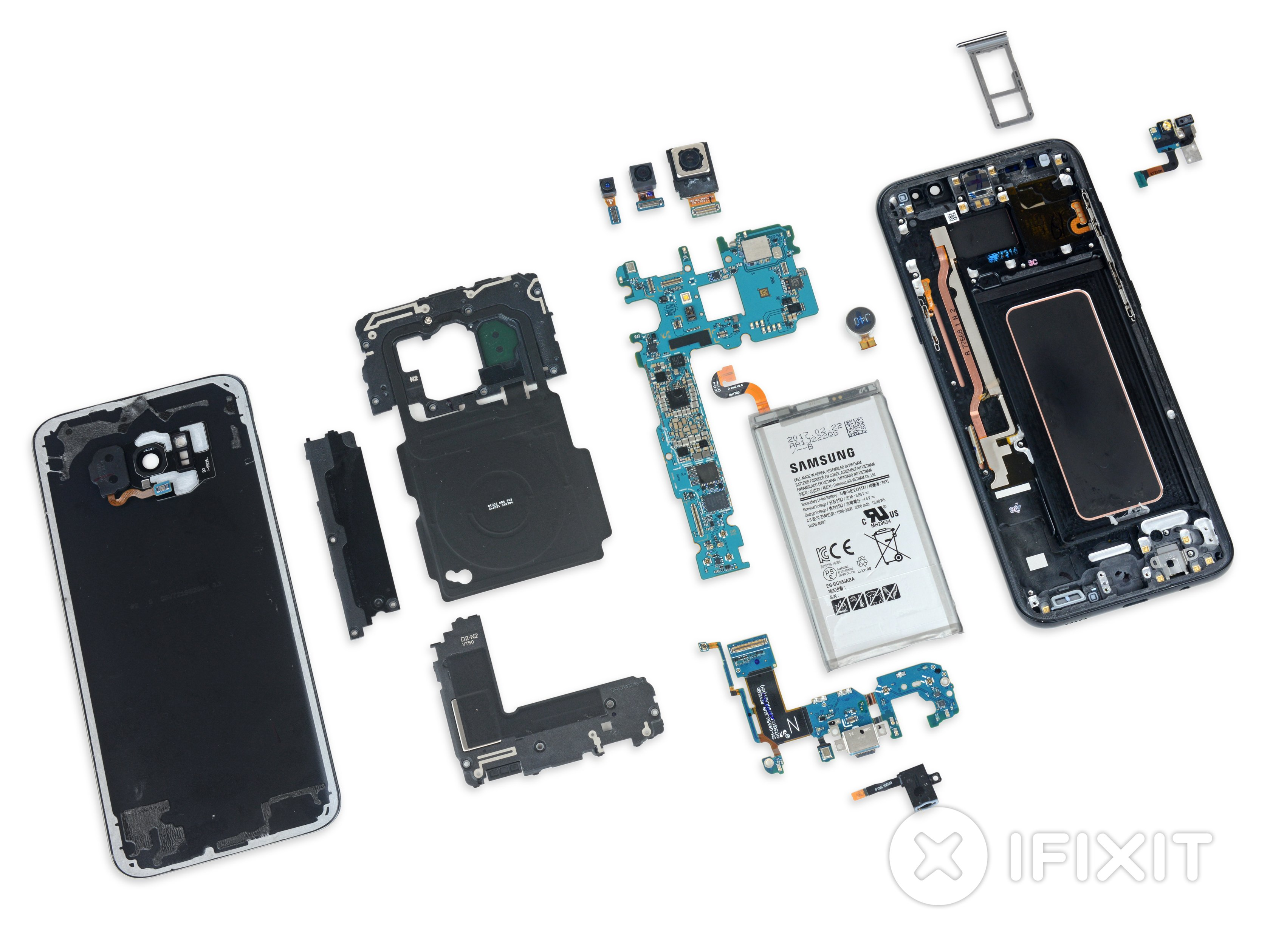 Blueprint Wallpaper Iphone 6 Samsung Galaxy S8 Teardown Ifixit