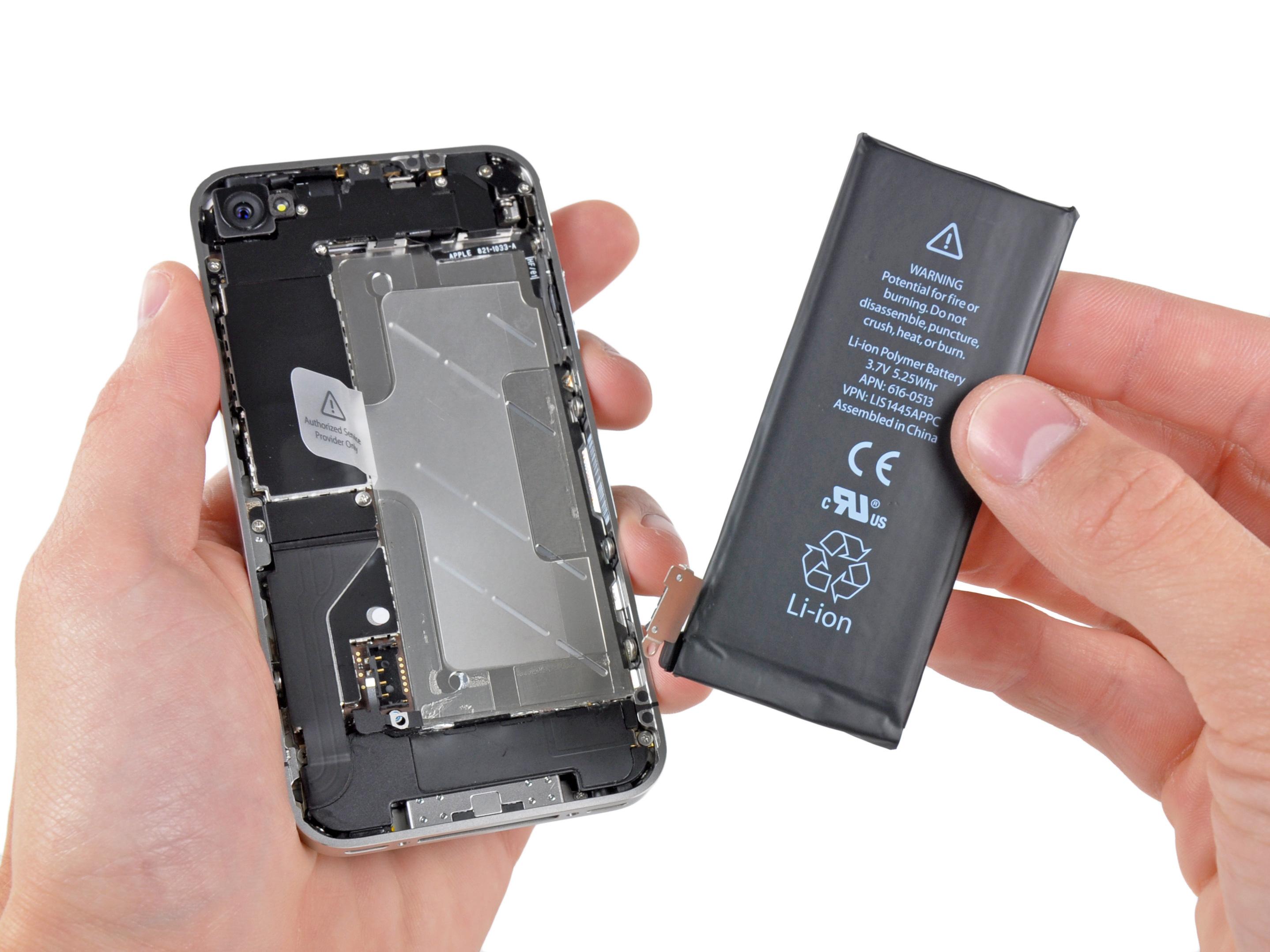 Broken Iphone Battery Wallpaper Iphone 4 Battery Replacement Ifixit Repair Guide