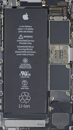 iPhone 6s and 6s Plus X-Ray Wallpapers | iFixit
