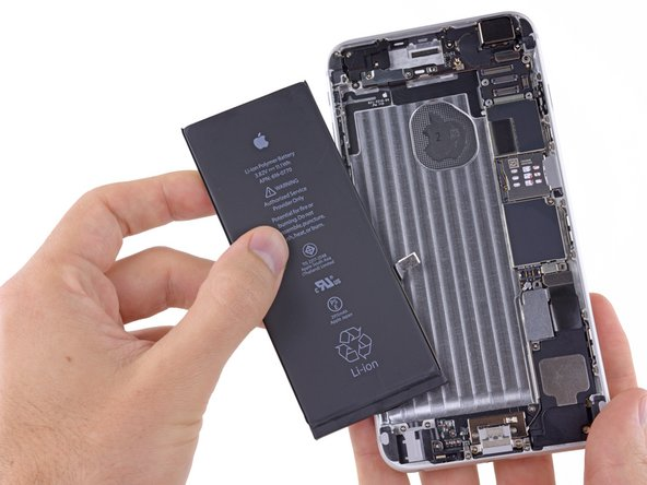 How To Change Wallpaper On Iphone 5c Iphone 6 Plus Battery Replacement Ifixit Repair Guide