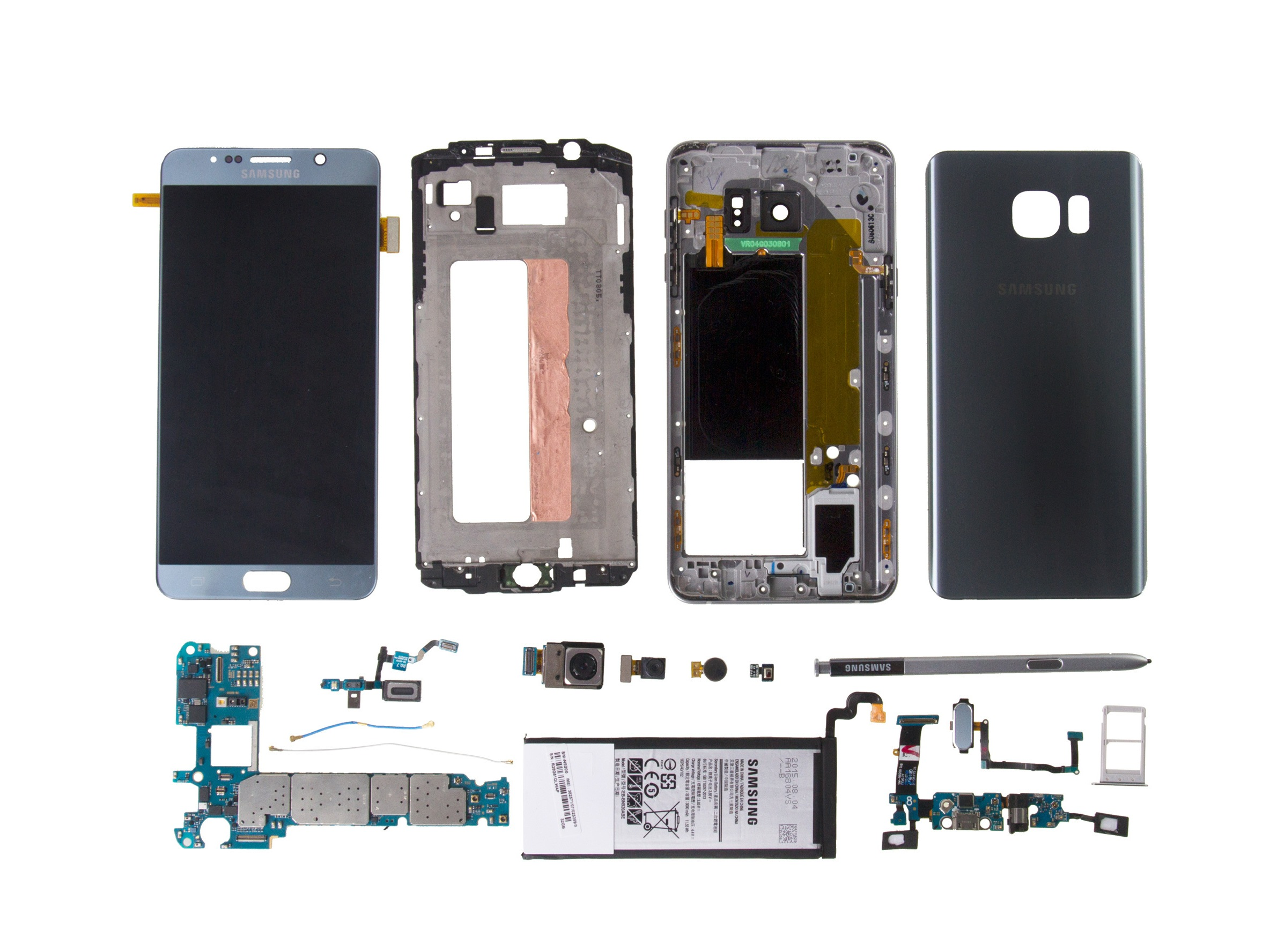 Iphone 8 Plus Internals Wallpaper Samsung Galaxy Note5 Teardown Ifixit