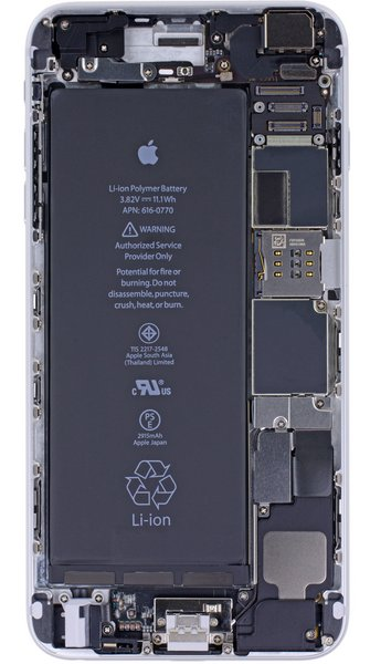 Iphone X Teardown Wallpaper Iphone 6 And 6 Plus X Ray Vision Wallpapers Ifixit