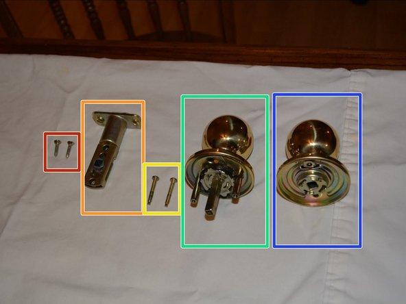 How To Change An Indoor Doorknob Handle - Ifixit