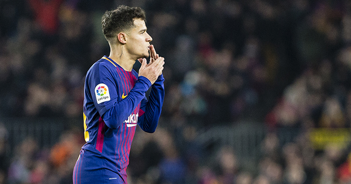Wallpaper Arsenal Hd Philippe Coutinho And A Goal New For Barca But Familiar To