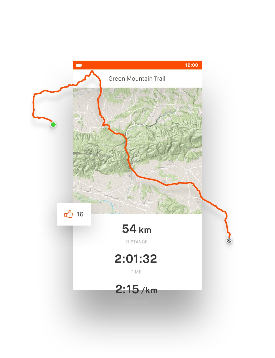 Running Jogging App Strava Run And Cycling Tracking On The Social Network For