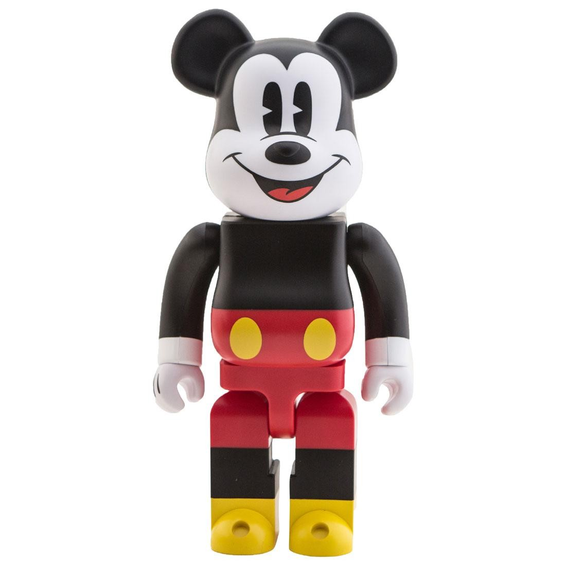 Disney Mickey Medicom Disney Mickey Mouse 400 Bearbrick Figure Black Red