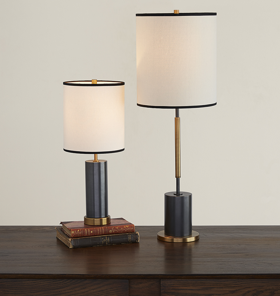 Floor Table Lamps Cylinder Tall Table Lamp
