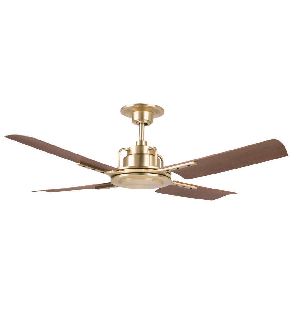 Black And Gold Ceiling Fan Peregrine Industrial Ceiling Fan