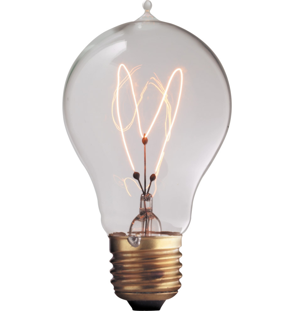 60w Light Bulb 60w Victorian Carbon Filament Bulb