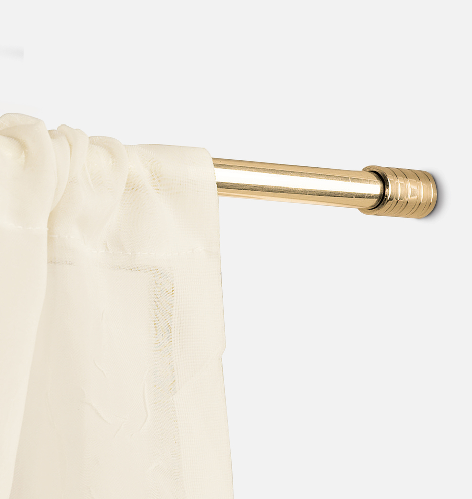 Lincraft Curtain Rods Concealed Mount Cafe Rod Set