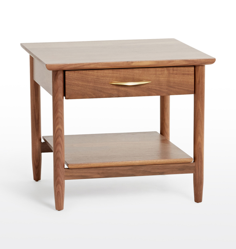 Coffee And Side Tables Shaw Walnut Side Table