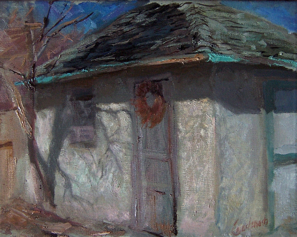 Garage Art Facebook Richard Kochenash Charles Garage In Early April Oil Painting