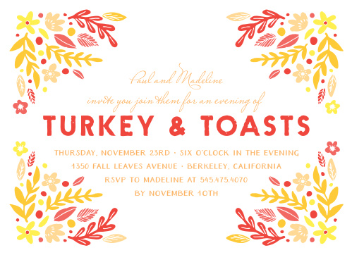 thanksgiving invitation sample - Pinarkubkireklamowe