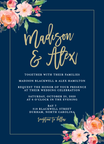 Luxury Wedding Invitations - Match Your Color  Style Free!