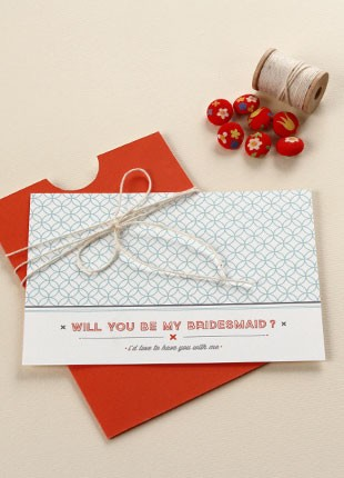 Will You Be My Bridesmaid Printable by Basic Invite