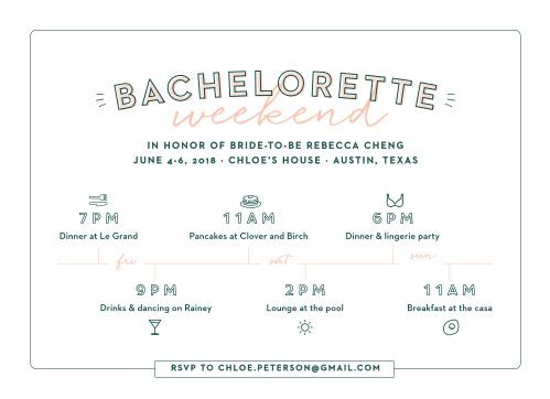 Bachelorette Party Invitations 15 Off Super Cute
