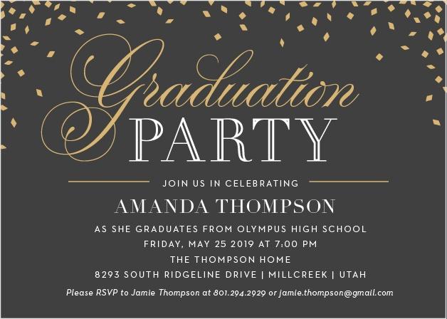 2018 Graduation Announcements  Invitations For High School and College - graduation photo invitations