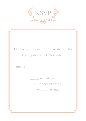Wedding RSVP Cards Match Your Color  Style Free! - Basic Invite - wedding response postcards