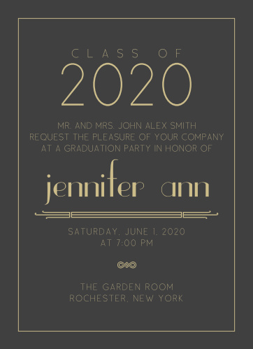 2018 Graduation Party Invitations Super Cute  Easy To Design - graduation party invitations