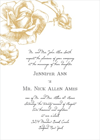 Wedding Invitations Match Your Color  Style Free! - wedding card designing