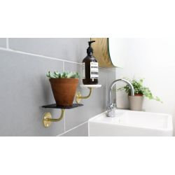 Small Crop Of Wall Bathroom Shelves