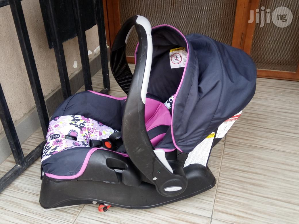 Baby Car Seat On Jiji Tokunbo Uk Used Even Flo Baby Car Seat In Lagos State