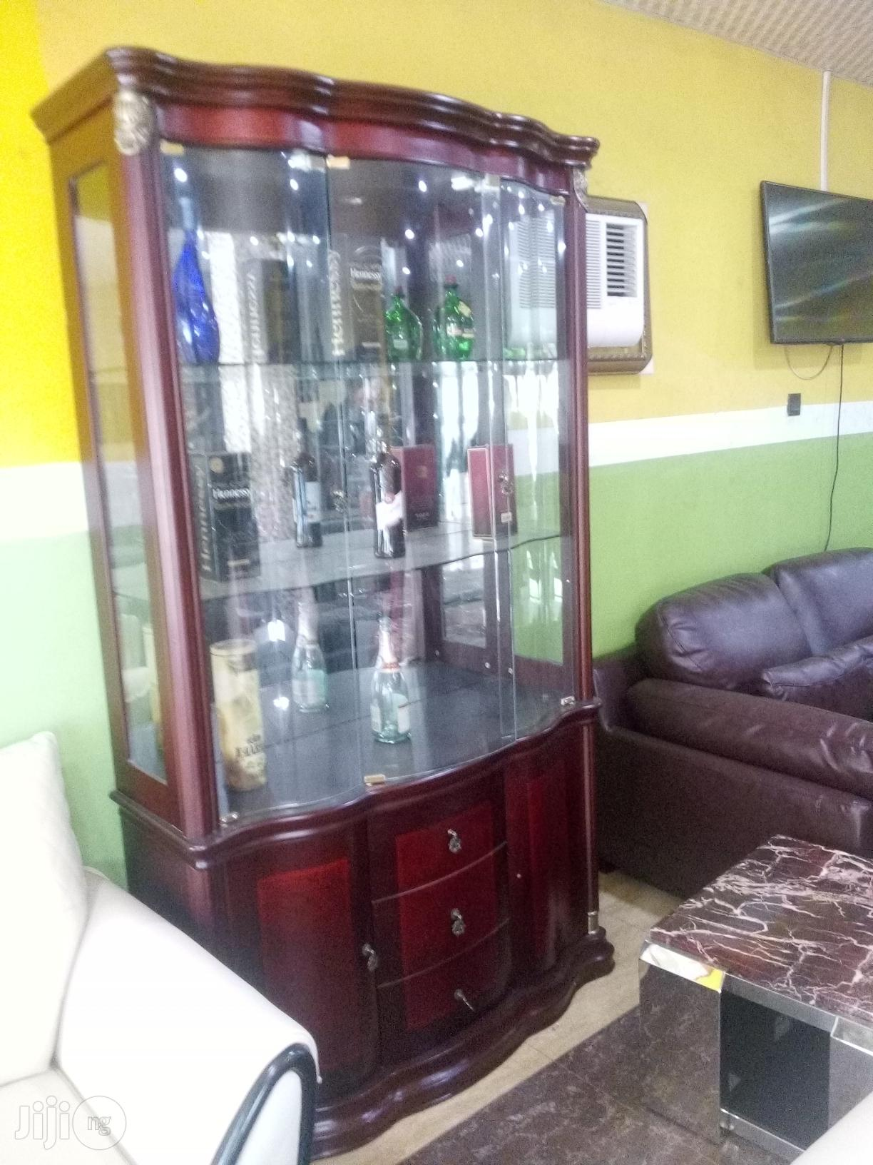 Archive Quality Wine Brown Bar In Ojo Furniture Henry Lazarus Jiji Ng