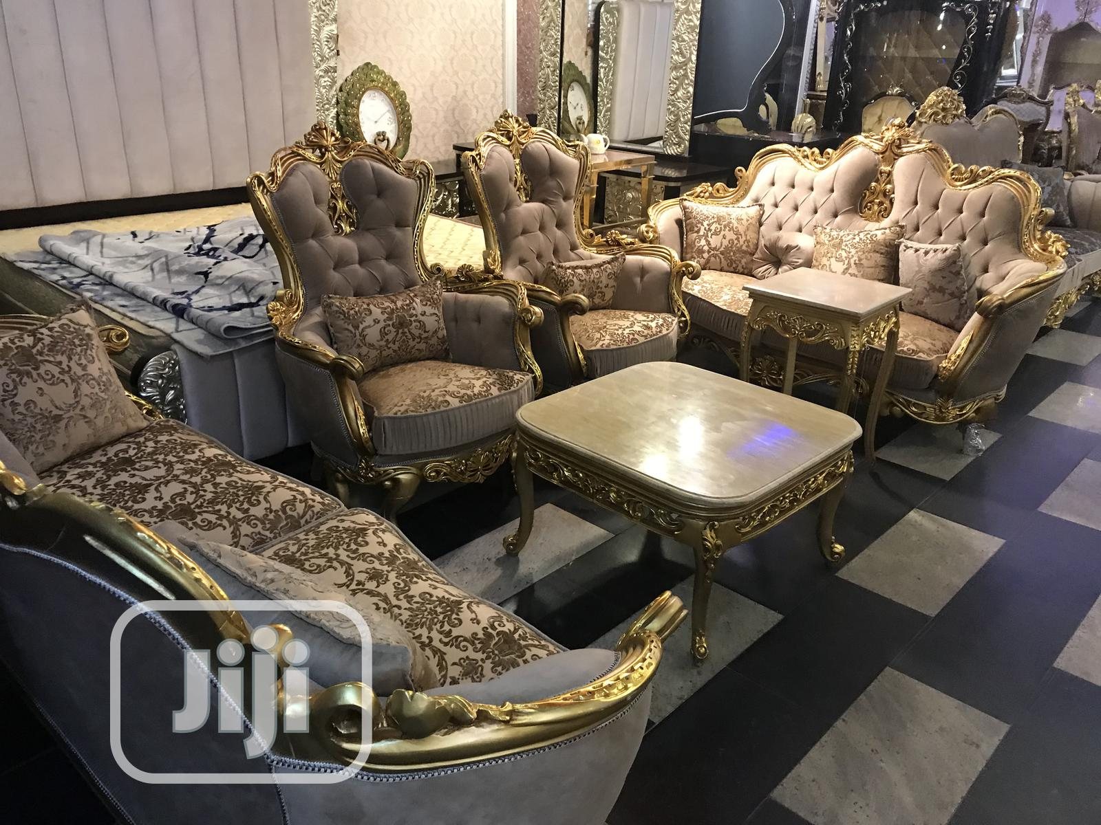 High Quality Egypt Royal Sofa Chair With 8 Seaters Dining In Ajah Furniture Great Access Global Limited Jiji Ng