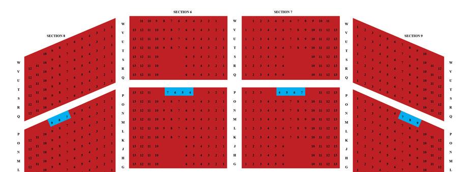 Orpheum Seating Chart