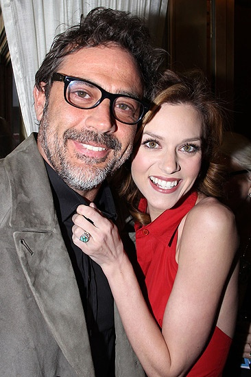 Cute Married Couple Hd Wallpapers Hilarie Burton And Husband And Son