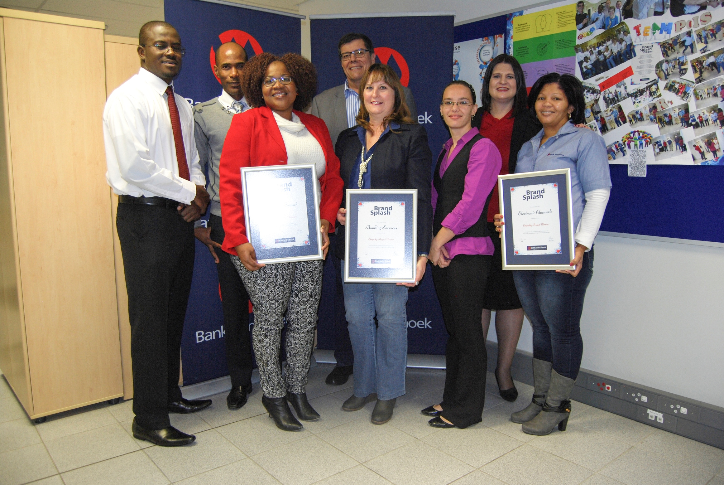 Bank Windhoek Bw Staff Recognised For Community Service Youth Namibian Sun