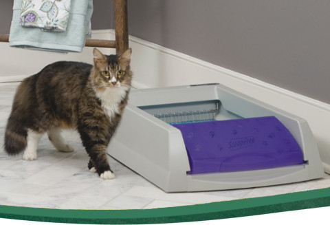 Cat Litter Boxes Self Cleaning Automatic Litter Boxes