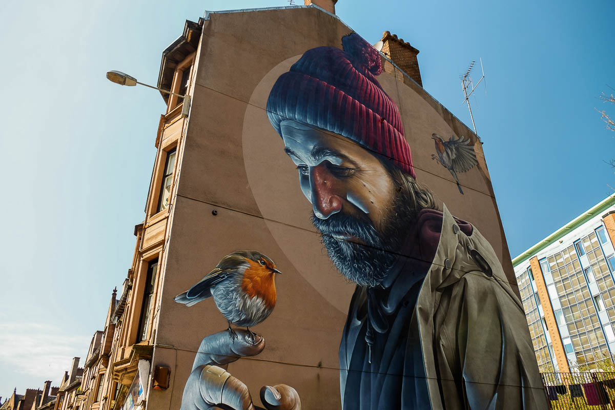 Photo Mural Our Pick Glasgows Street Murals Walkhighlands