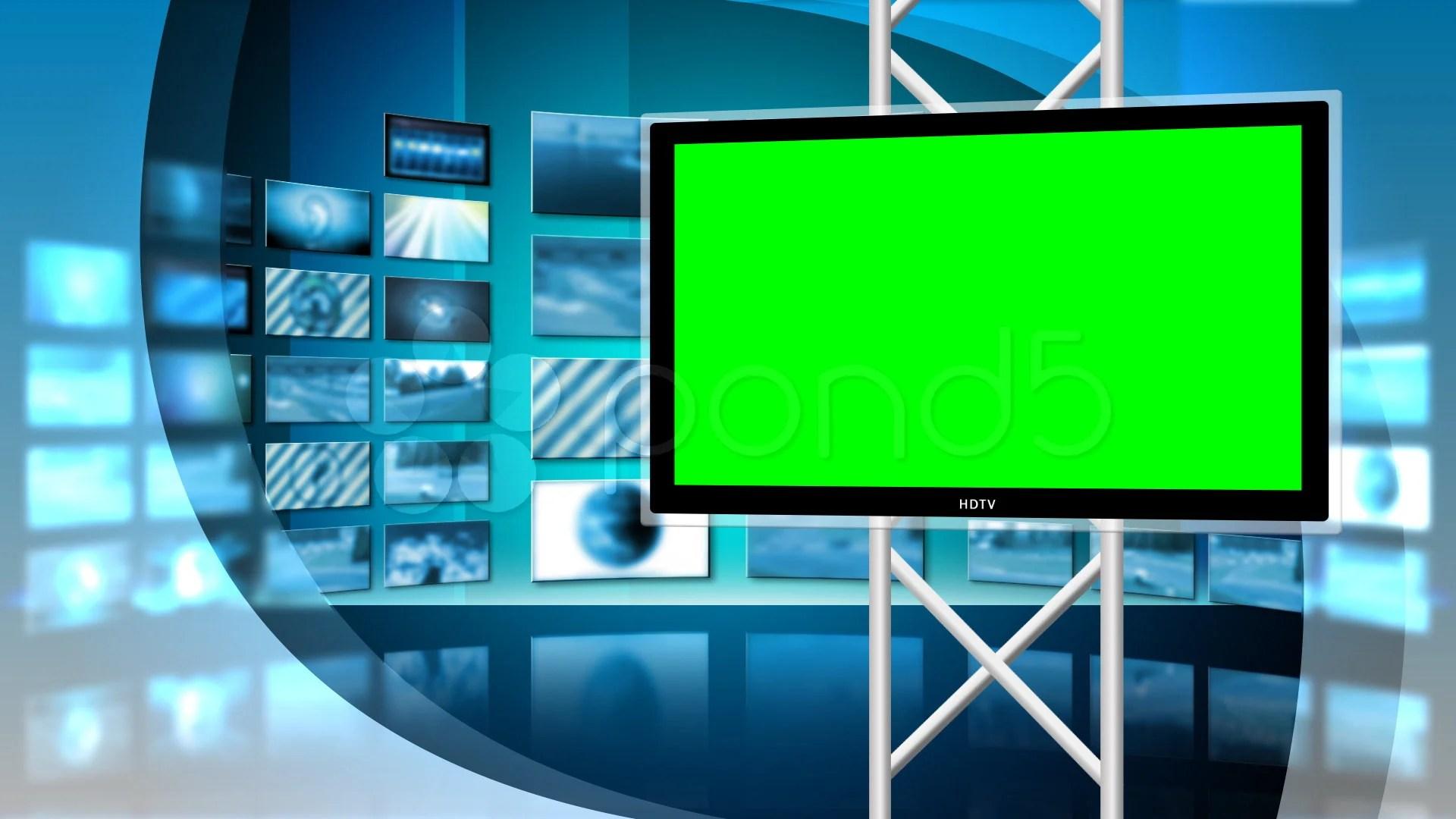 Animated 3d Wallpaper Gifs Looping Virtual News Studio 8 Loop Video Clip 716682 Pond5
