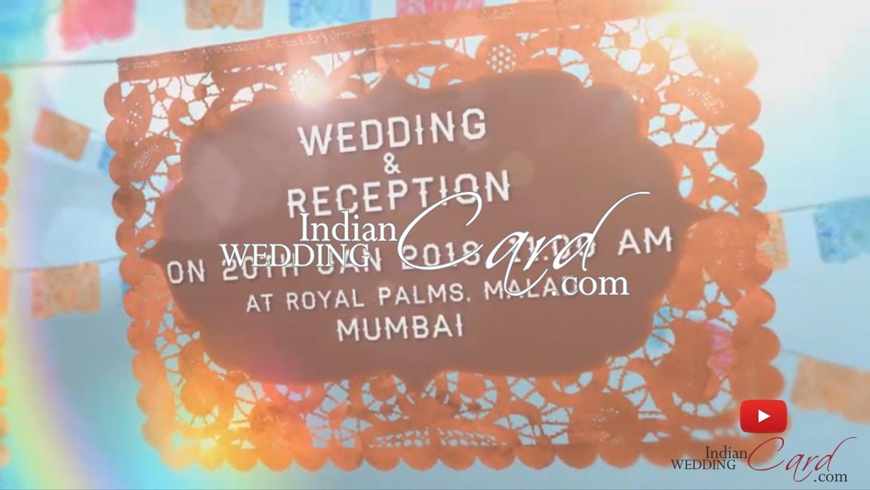 Muslim Wedding Cards Scrolls Invitations Wedding