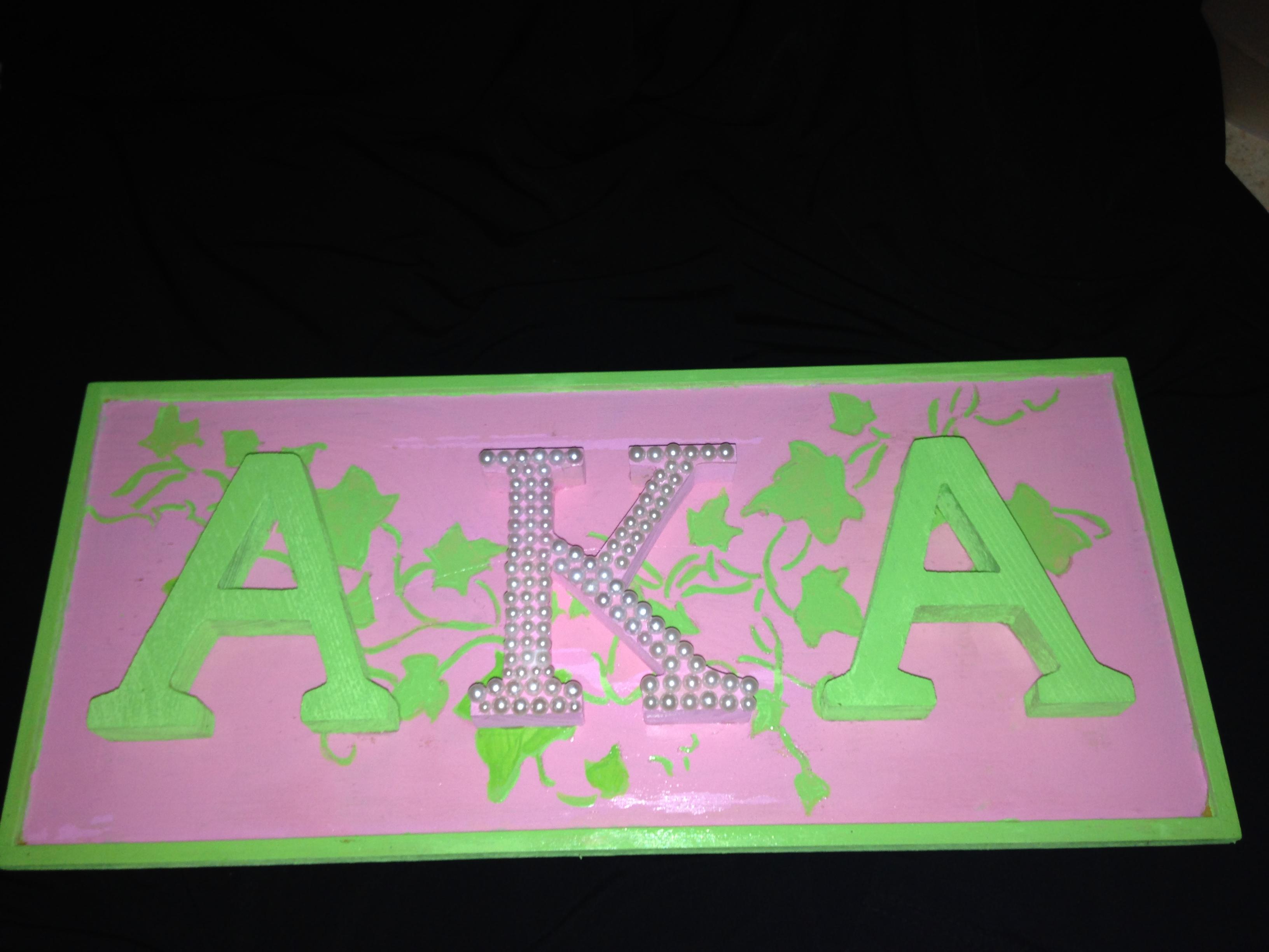 Alpha Kappa Alpha Wall Art - Elitflat