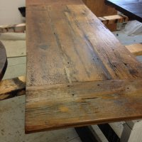 Fresh Restorations | Farm table tops Reclaimed wood table ...