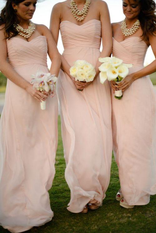 Medium Of Light Pink Bridesmaid Dresses